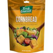 Fresh Gourmet Cornbread Croutons Sweet Bread