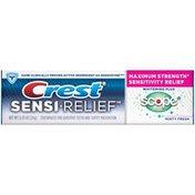 Crest Sensi-Relief Crest Sensi-Relief Whitening + Scope Minty Fresh Flavor Toothpaste .85 oz Dentifrice