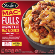 Stouffer's MAC-FULLS Southwest Style Mac and Cheese Bowl Frozen Meal