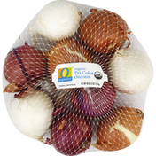 O Organics Onions, Tri-Color, Organic