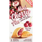 JJ's Bakery Pies, Cherry, Mini, 6 Pack