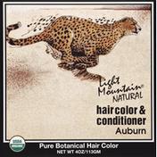 Light Mountain Hair Color & Conditioner, Auburn
