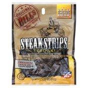 Original Bills Steak Strips, Teriyaki