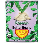 Jack's Quality Butter Beans, Organic, Low Sodium