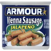Armour Sausage, Vienna, Jalapeno