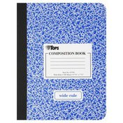 Tops Composition Book, Wide Rule