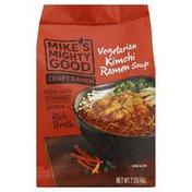 Mike's Mighty Good Ramen Soup, Vegetarian Kimchi