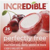 Incredible Frozen Bites, Non-Dairy, Cherry & Vanilla