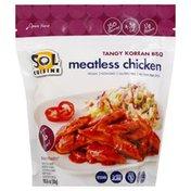 Sol Cuisine Vegan, Gluten Free, Meatless Chicken, Tangy Korean BBQ, Pouch