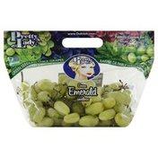 Pretty Lady Grapes, Green Emerald Seedless
