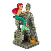 Penn-Plax The Little Mermaid Ariel & Eric Statue Aquarium Ornament