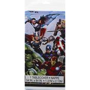 Unique Table Cover, Plastic, Marvel Avengers