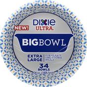 Dixie Bowls, Big, 34 Ounces, Extra Large