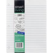 Smart Living Filler Paper, Wide Ruled