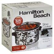 Hamilton Beach Slow Cooker, Oval Shape, 3 Quart Capacity