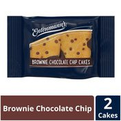 Entenmann's Brownie Chocolate Chip Cakes
