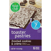 Food Club Frosted Cookies & Creme Toaster Pastries