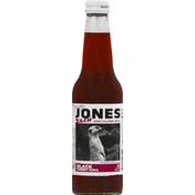 Jones Soda, Zero Calorie, Black Cherry Flavor