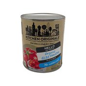 Kitchen Originals No Salt Canned Diced Tomatoes