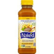 Naked Chia Sweet Peach Chia & Juice Smoothie