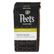 Peet's Coffee Decaf Dark Roast Coffee House Blend