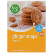 Food Club Ginger Snaps Cookies