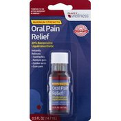 Family Wellness Oral Pain Relief, Maximum Strength