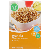 Food Club Granola With Oats, Almonds & Honey