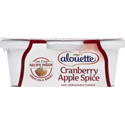 Alouette Cheese, Soft, Spreadable, Cranberry Apple Spice
