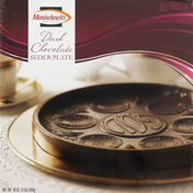 Manischewitz Seder Plate, Dark Chocolate