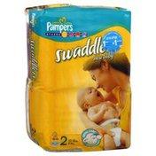 Pampers Diapers, Size 2 (12-18 lb), Sesame Beginnings, Mega
