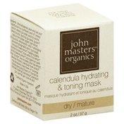 John Masters Organics Mask, Calendula Hydrating & Toning, Dry/Mature