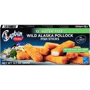 Captain Findus Gluten Free Wild Alaska Pollock Fish Sticks