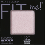 Maybelline Fit Me! Set + Smooth Pressed Powder 120 Classic Ivory