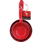 Cocinaware Measuring Cups, Red