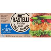 Rastelli Butcher Shop Craft Burgers, All Natural, Turkey Breast