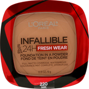 L'Oreal Foundation, Fresh Wear, Sand 220