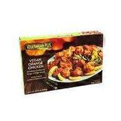 Vegetarian Plus Vegan Orange Chicken