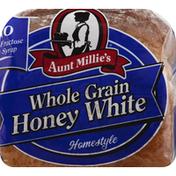 Aunt Millie's Bread, Whole Grain, Honey White, Homestyle