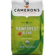 Camerons Coffee, Organic, Whole Bean, Medium Roast, Rainforest Blend