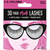 L.A. Colors False Lashes, 3D Faux Mink, Tristan