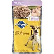 Pedigree Little Champions Meaty Ground Dinner W/Chicken Wet Dog Food