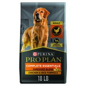Purina Pro Plan High Protein Dog Food With Probiotics for Dogs, Shredded Blend Chicken & Rice Formula