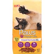 Paws Happy Life Cat Food, Mixed Formula