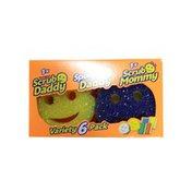 Scrub Daddy Flex Texture Sponge Value Pack