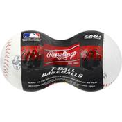 Rawlings Baseballs, T-Ball, Value Pack