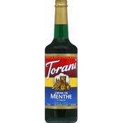 Torani Syrup, Creme De Menthe