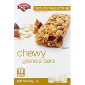 Hannaford Chocolate & Peanut Butter Chewy Granola Bars