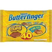Nestle Butterfinger and Butterfinger Cups fun size Chocolatey Candy