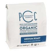 PCC Organic Medium Roast Coffee